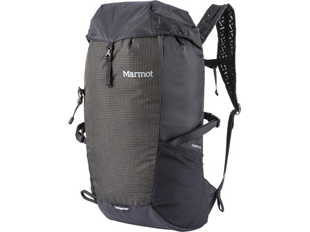 Marmot Kompressor Mochila 18l, black/slate grey